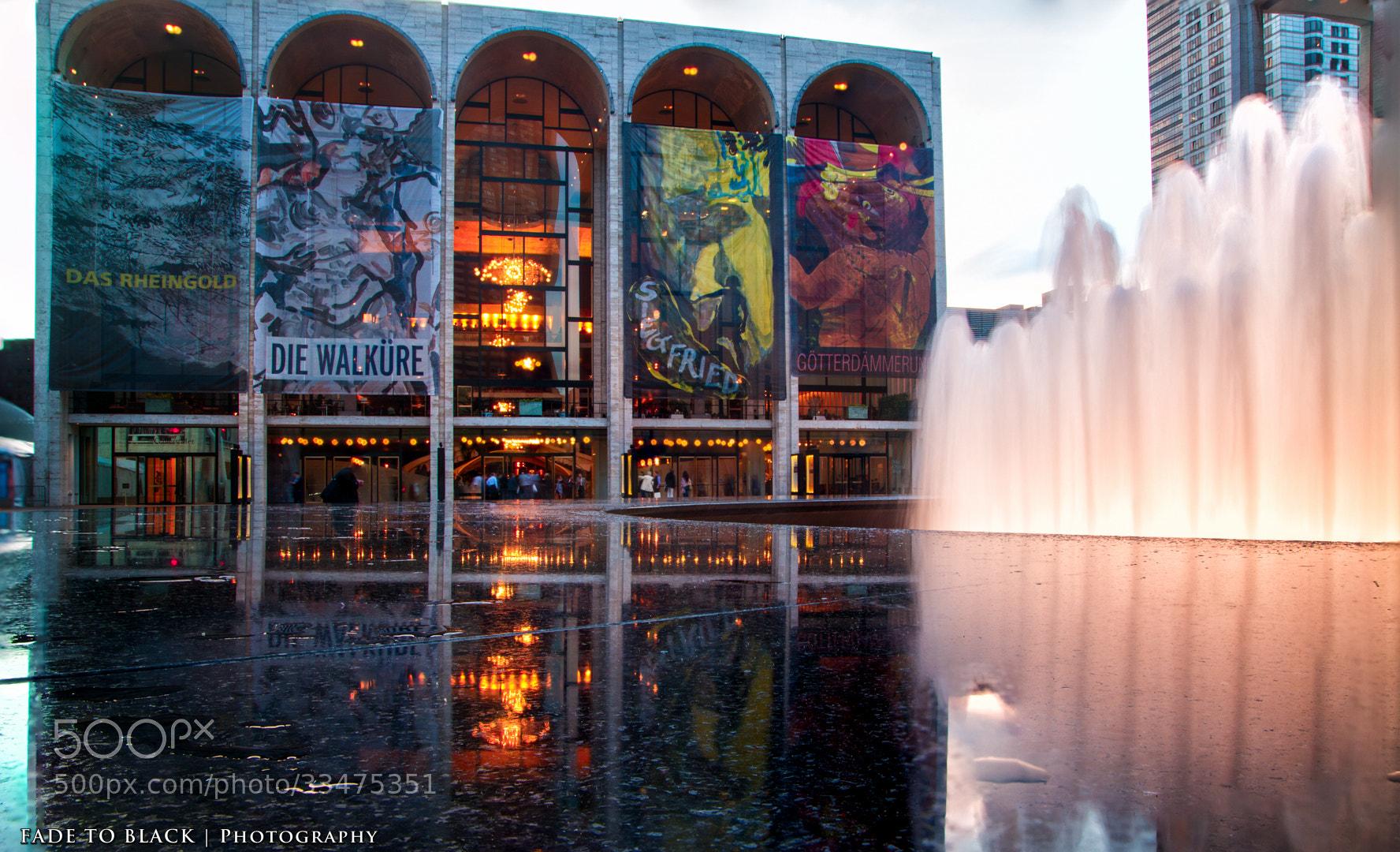 Photograph Metropolitan Opera House by Tim Szczesniak on 500px