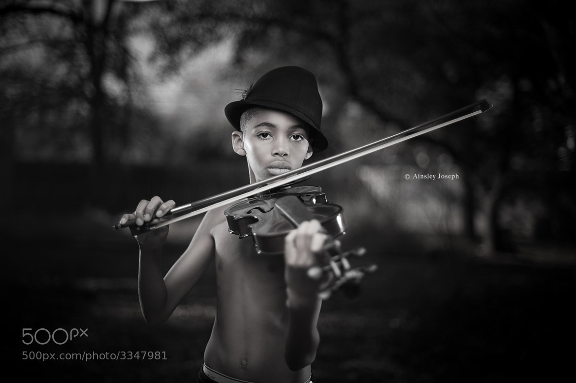 Photograph the violinist by Ainsley  Joseph on 500px