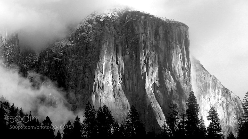Photograph El Capitan After Winter Storm by Doug Van Kirk on 500px