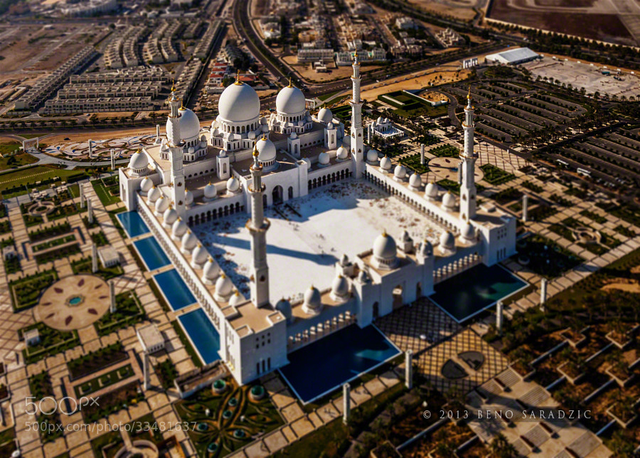 Photograph Sheikh Zayed Grand Mosque (T-S) by Beno Saradzic on 500px