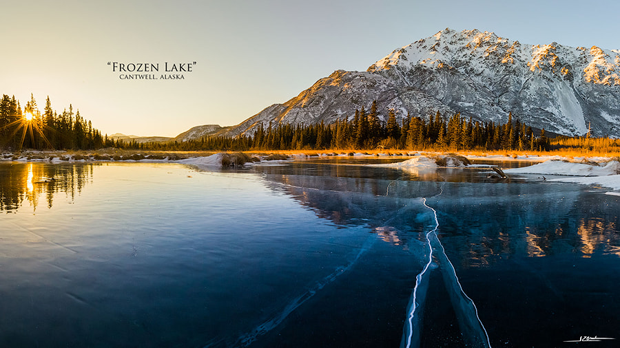 Frozen Lake by Ryan Black on 500px.com
