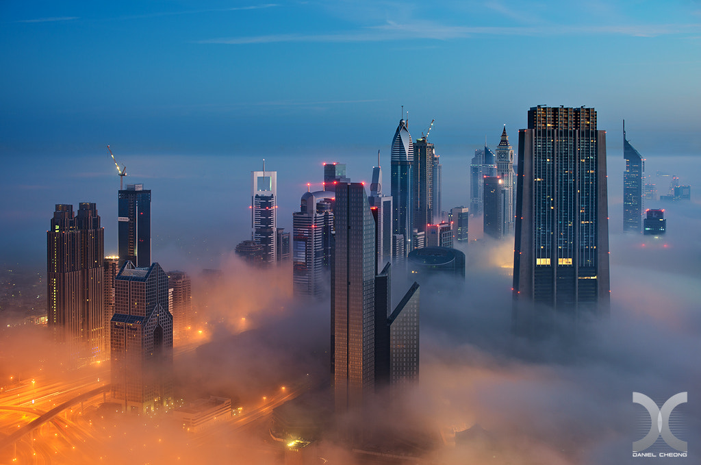 Photograph Cloud City by Daniel Cheong on 500px
