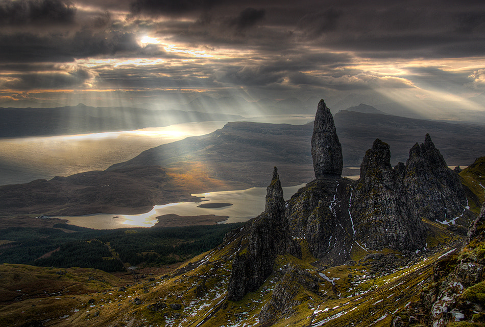 Photograph Rays Of Storr by Gary Howells on 500px