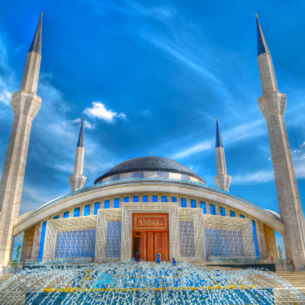 Modern Architecture Mosque Ankara/Turkey