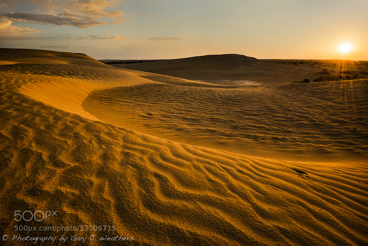 Photograph Dawn on the Dunes, Christmas Valley, Oregon by Gary Weathers on 500px