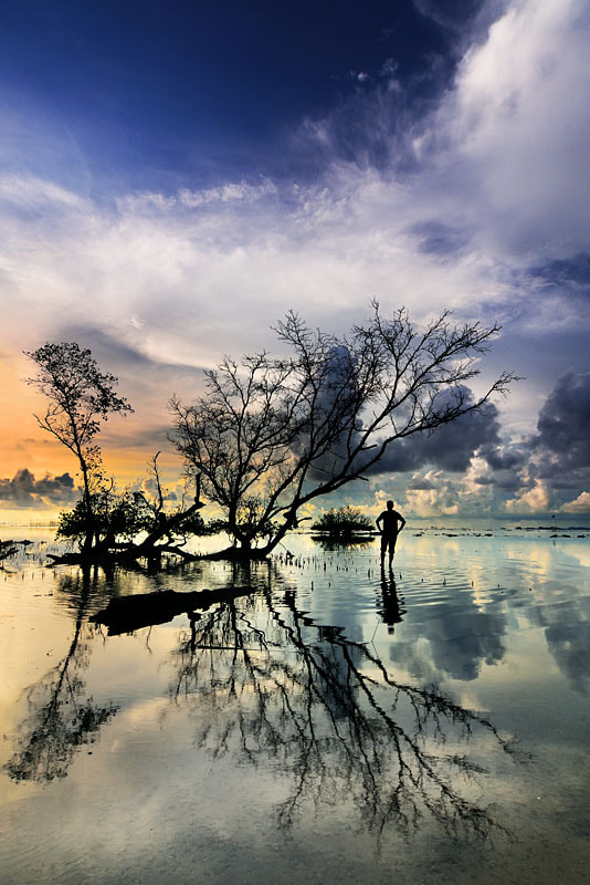 Photograph Me and Reflection by Ade Rinaldi on 500px
