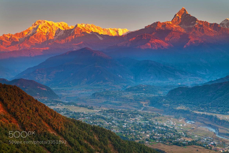 Photograph Annapurna range by Helminadia Ranford on 500px
