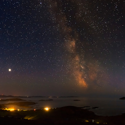 Night Sky Derrynane, County Kerry, Ireland