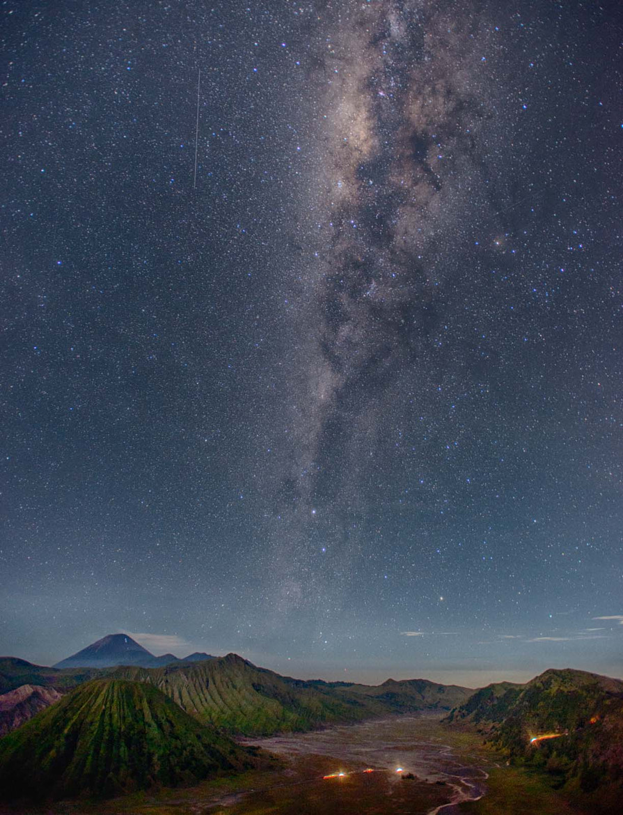 Photograph Milky way above Bromo by Danil Morad on 500px
