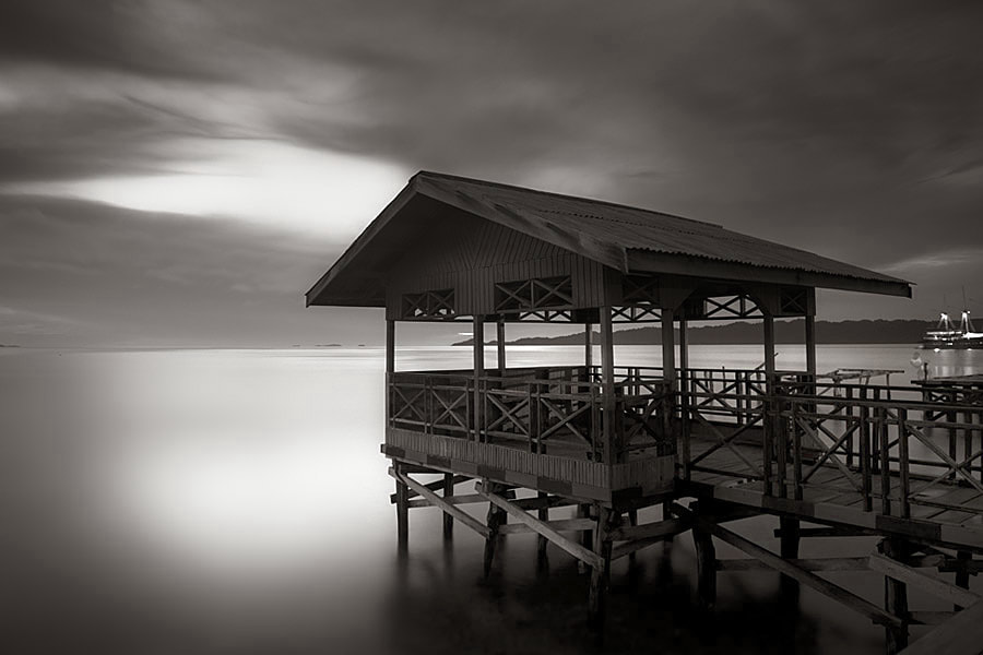 Photograph Airborek Jetty by Hengki Koentjoro on 500px