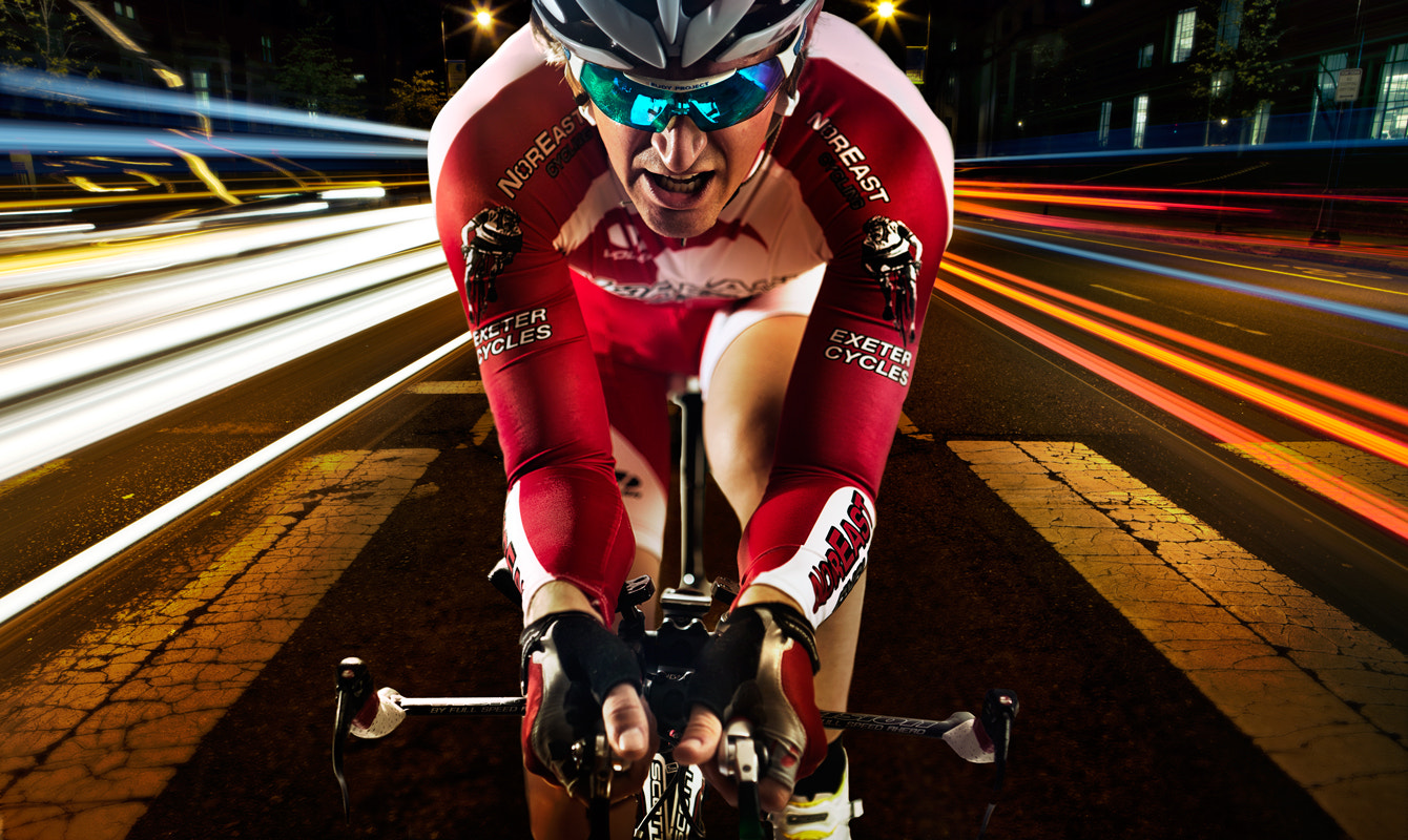 Photograph Cyclist at MIT by Linked Ring Photography on 500px