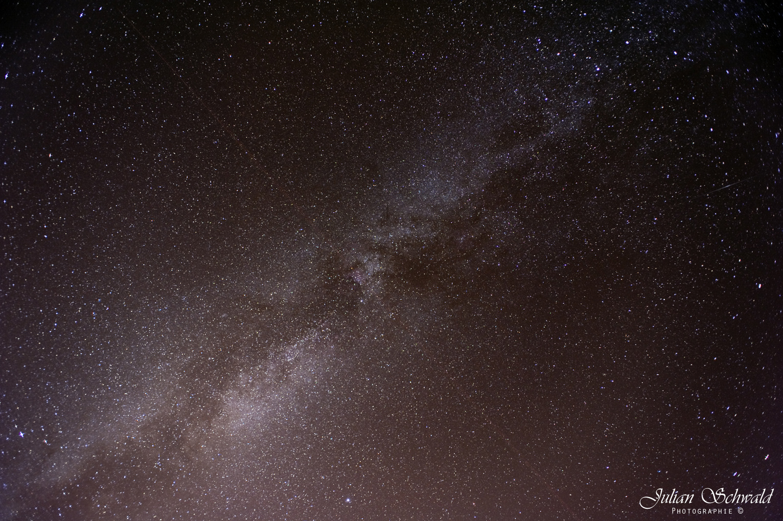 Photograph Milky Way by Julian Schwald on 500px