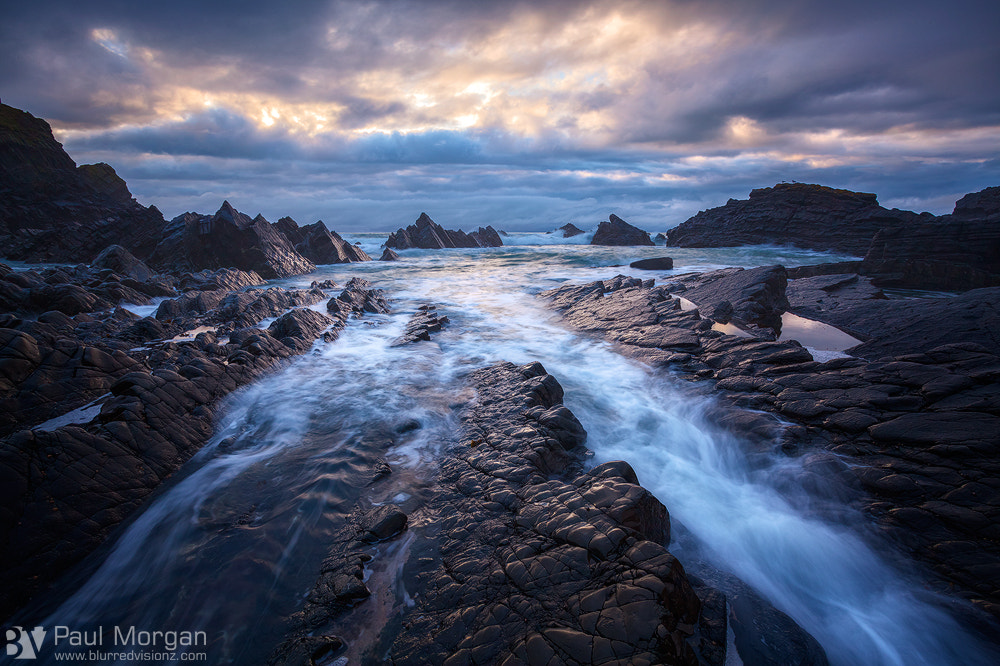 Photograph Hartland Rocks by Paul Morgan on 500px