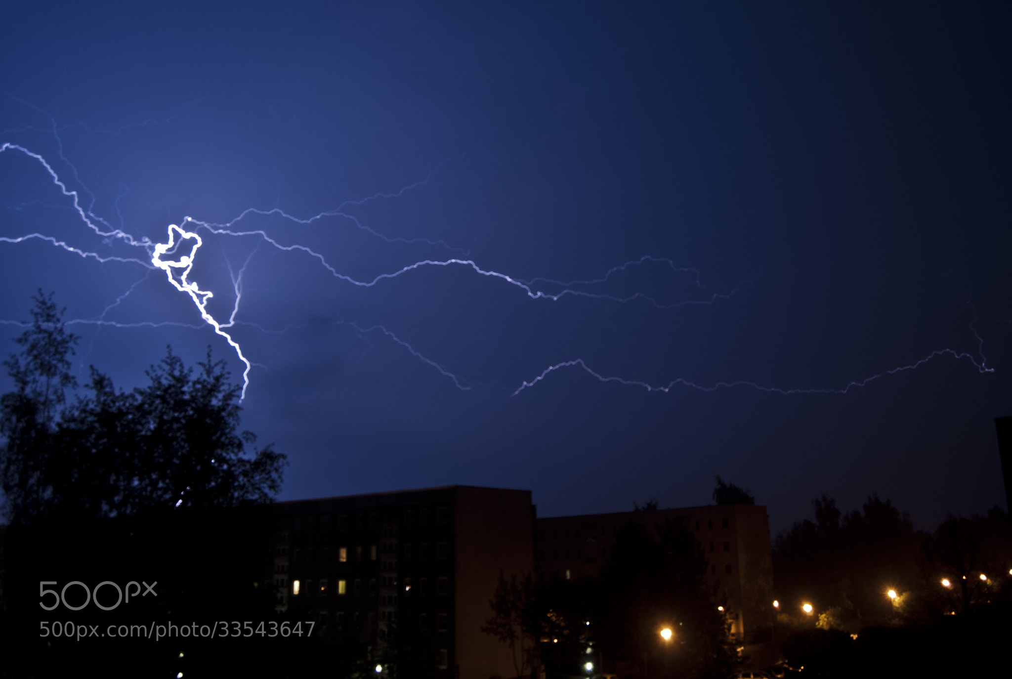 Photograph Thunderstorm in Greifswald by Javier R. R. on 500px