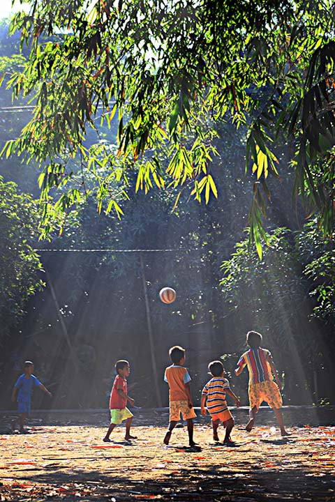 Photograph playing the ball by Febry Misfar on 500px