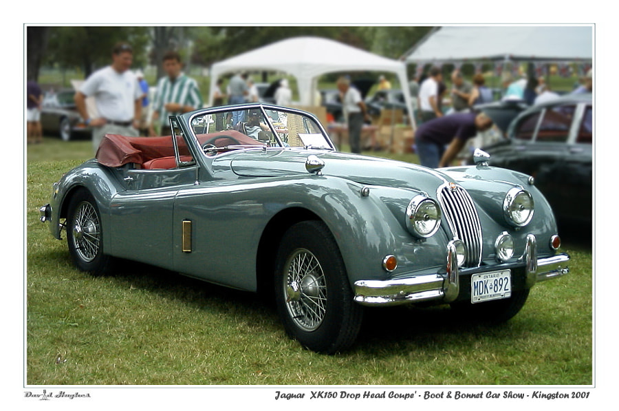 1954 Jaguar XK140 Drop Head Coupe