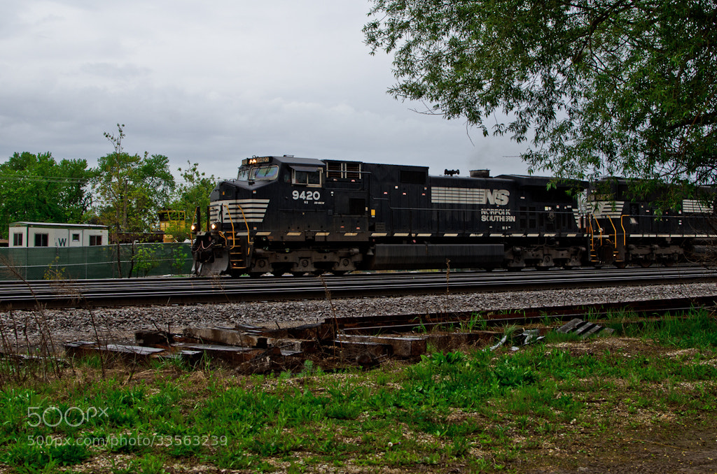 Photograph Norfolk Southern, Franklin Park by Sam D. on 500px