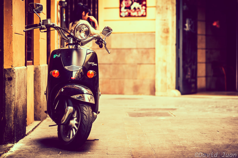 Photograph Scooter Life by David Juan on 500px