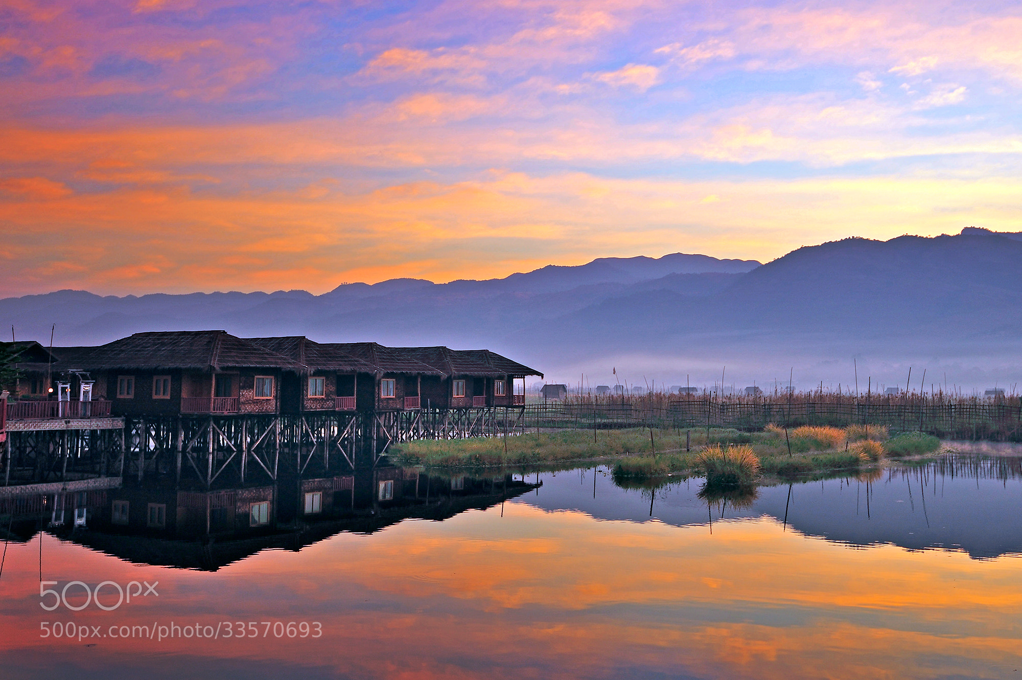 Photograph Good morning Inle by Puchong Pannoi on 500px