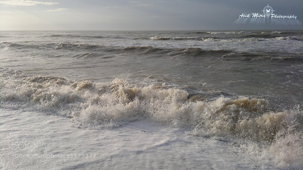 Photograph Waves by Avik Mitra on 500px