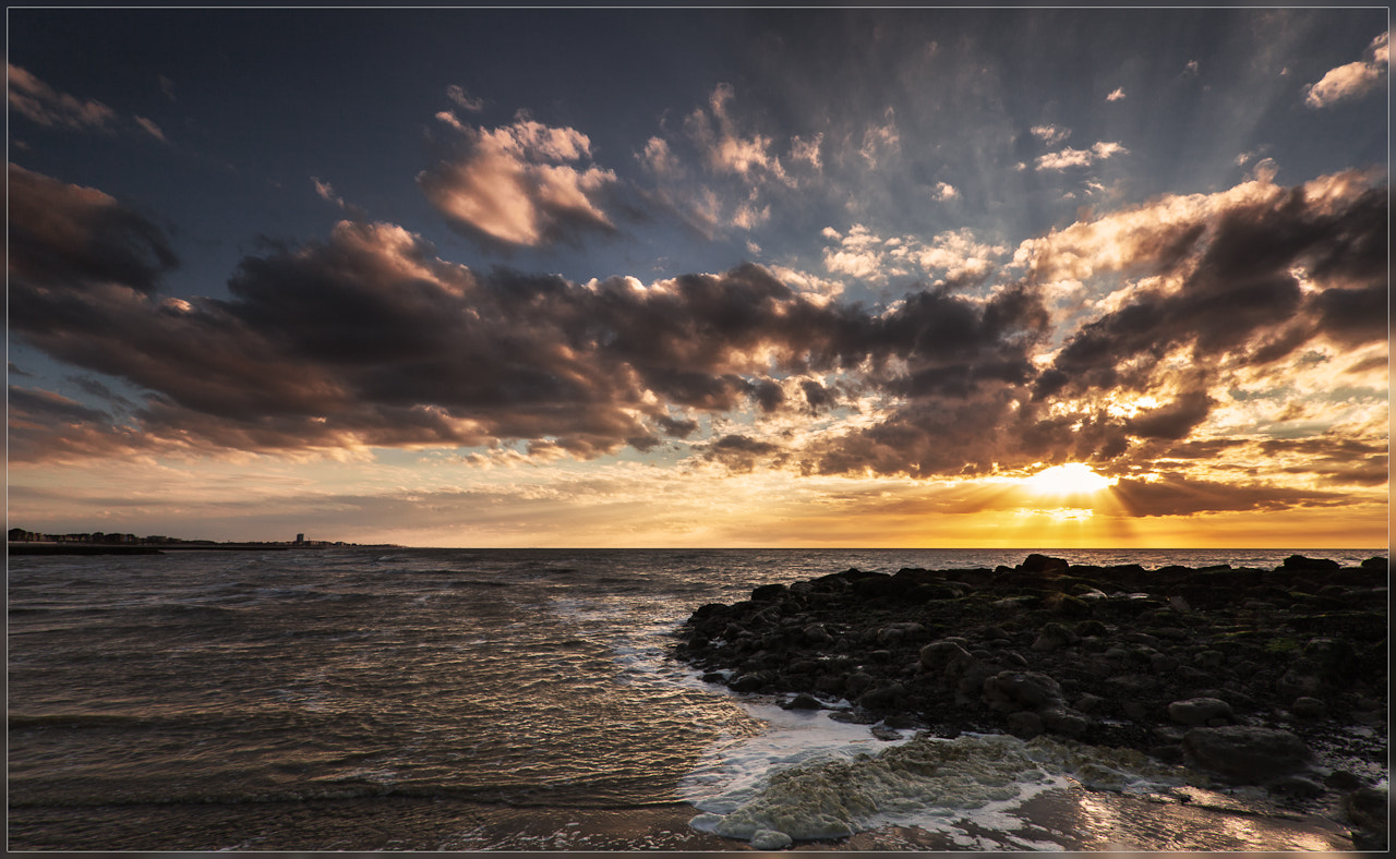 Photograph Sunset Belgian Coast by Christophe Vandeputte on 500px