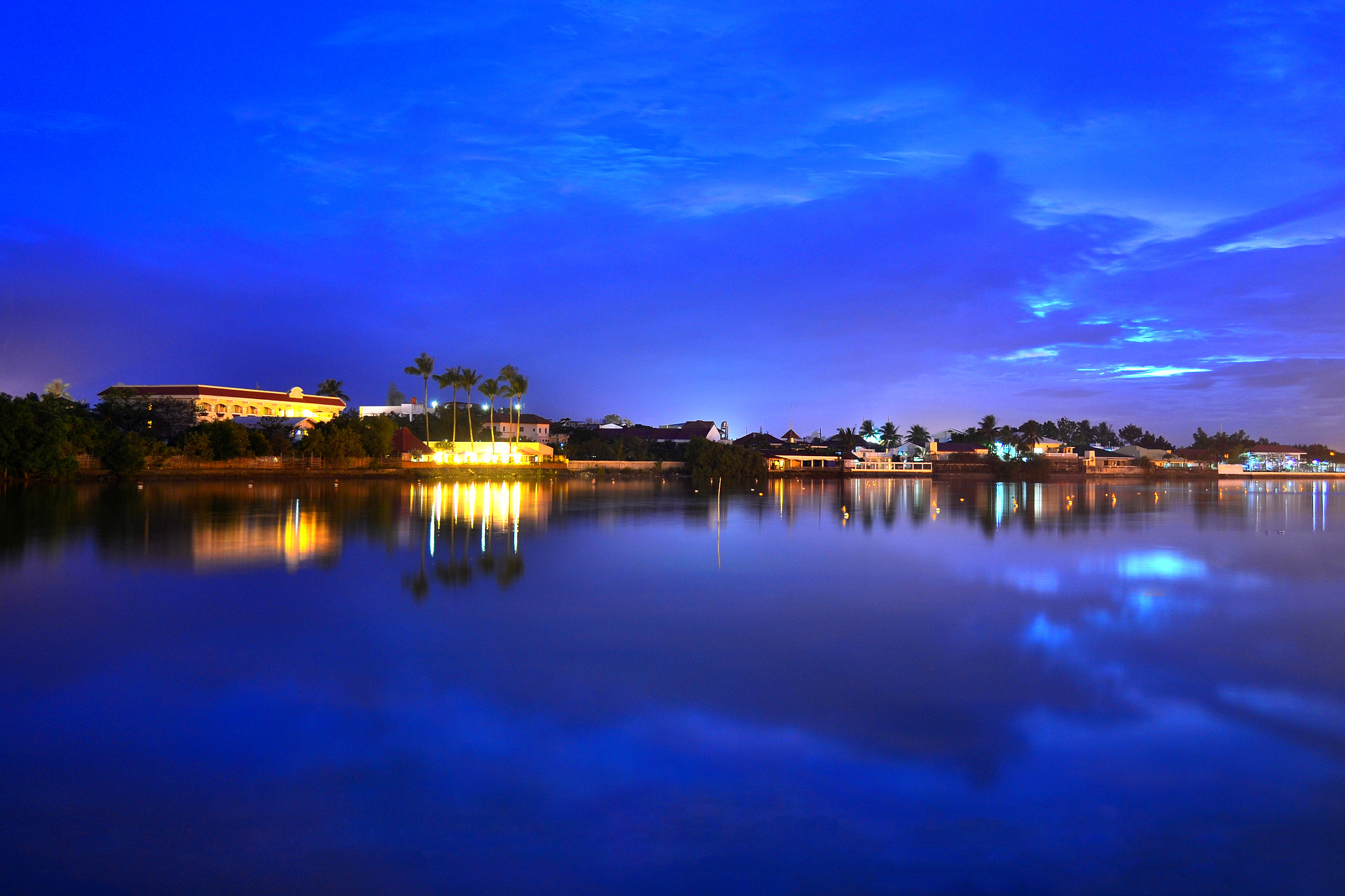 Photograph Iloilo River at Night by Wilfredo Lumagbas Jr. on 500px