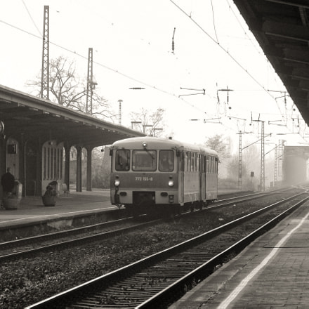 Railbus at the station