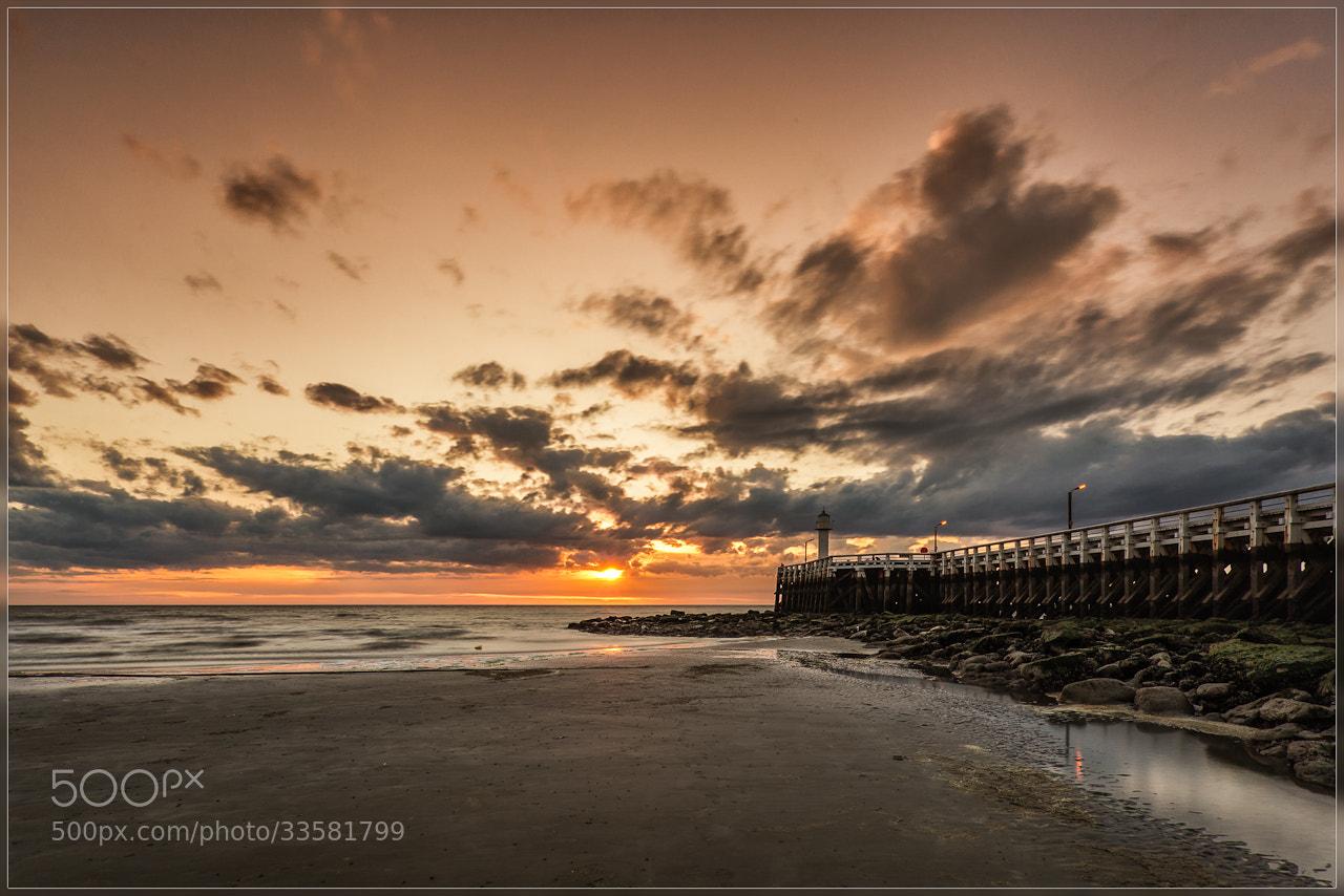 Photograph Sunset lighthouse by Christophe Vandeputte on 500px
