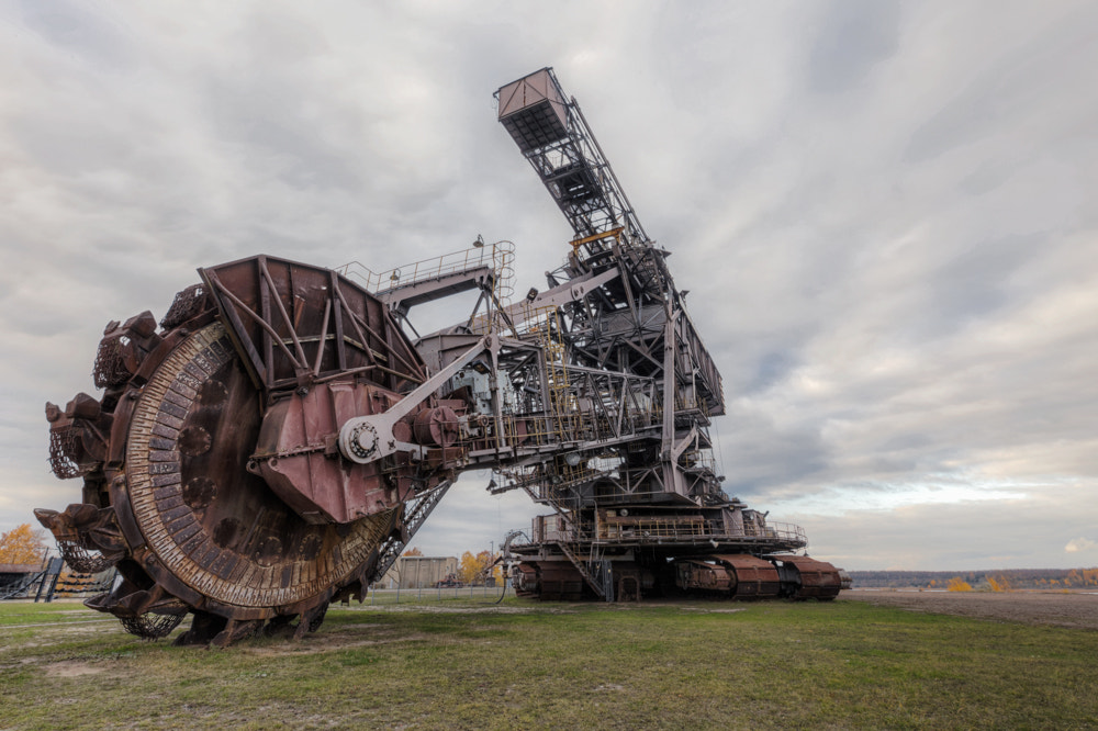 Photograph lignite excavator by Christian Richter on 500px