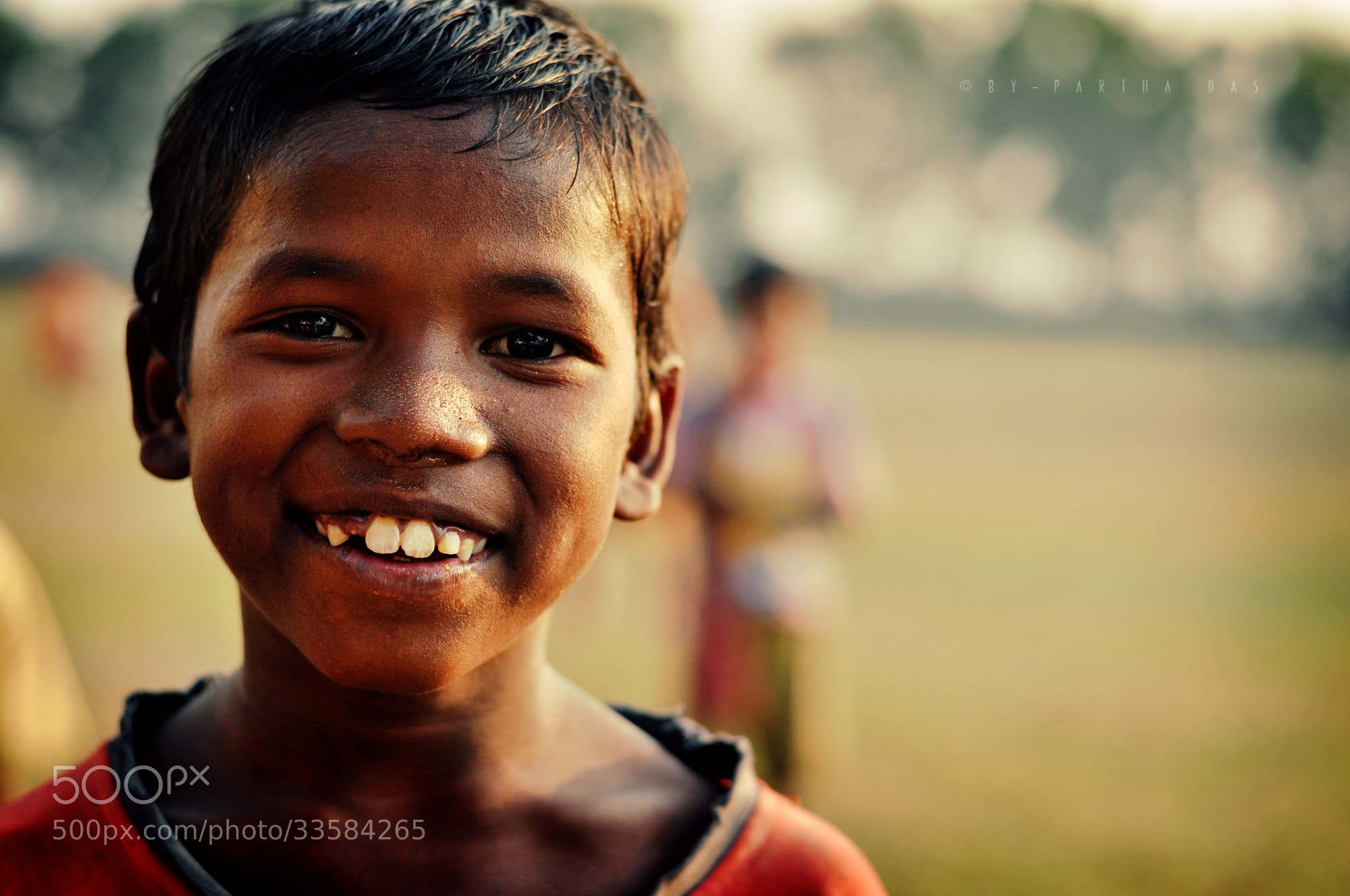 Photograph Finally...you seems happy :) by Partha Das on 500px