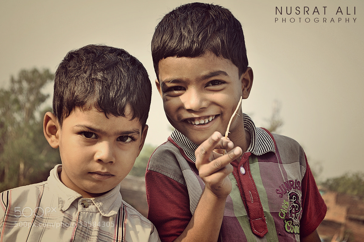 Photograph Brothers by Nusrat Ali on 500px