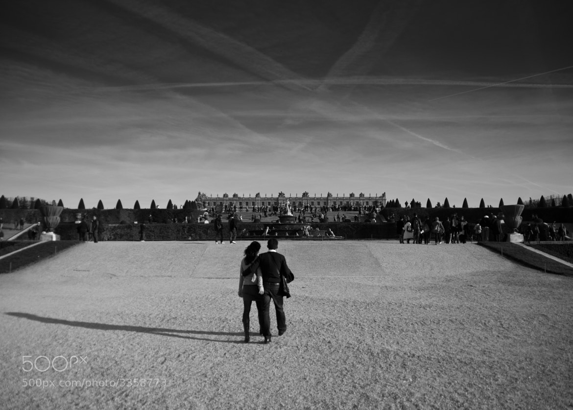 Photograph Lovers in Versailles by Alex Drl on 500px
