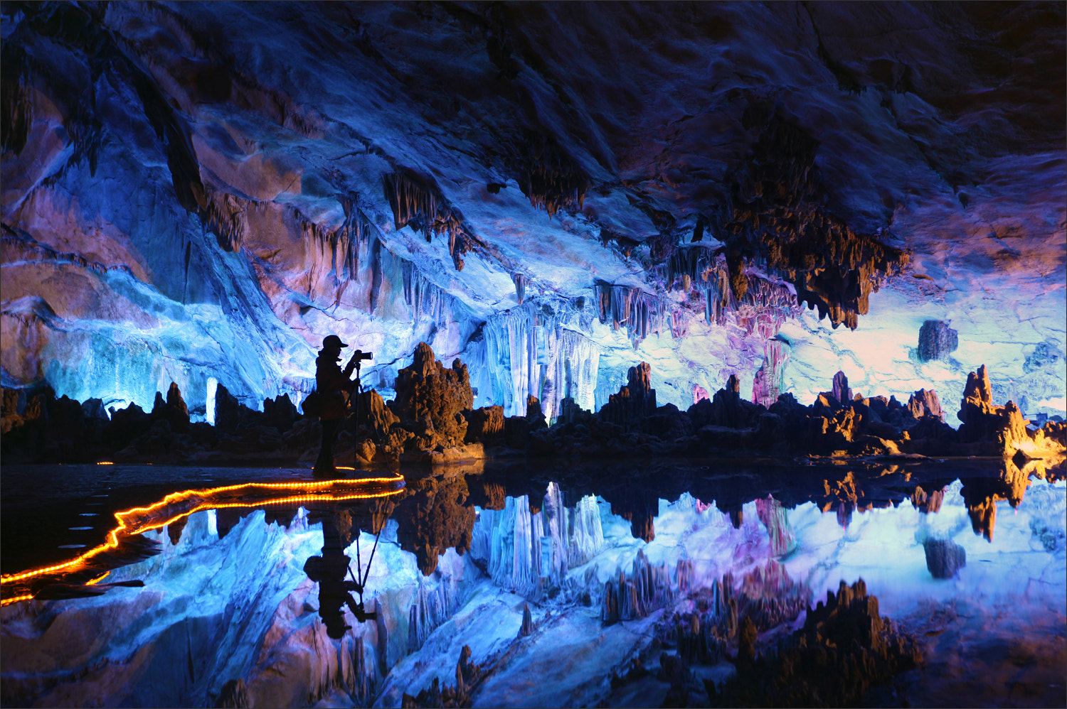 Photograph Photographer in the Cave by Woosra Kim on 500px