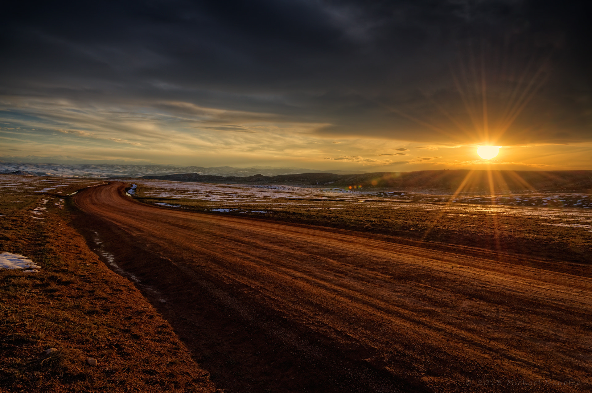 Photograph Sundown on the Laramie Foothills by Michael Menefee on 500px
