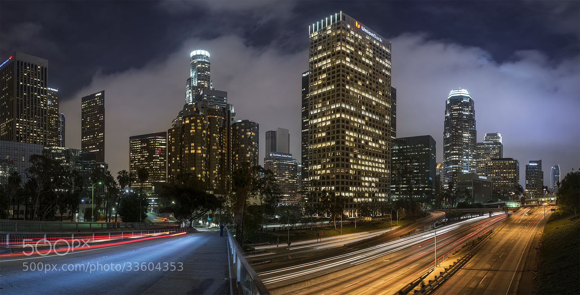 Photograph LA Downtown by daniel vojtech on 500px