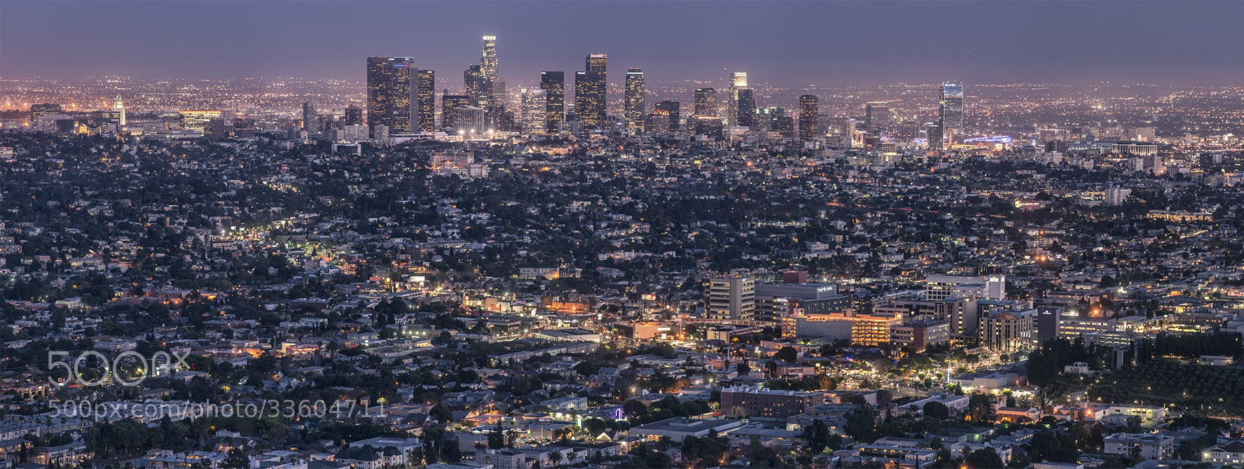 Photograph LA Downtown by daniel vojtech on 500px