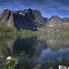 5 Stitched Photos Lofoten Island, Norway