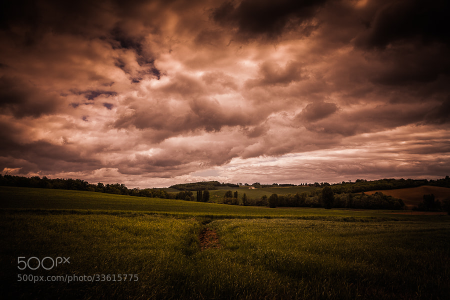 Ciel d'orage  by Thomas C (thomascphotos)) on 500px.com