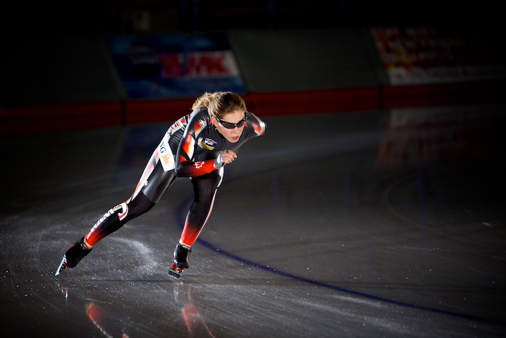 Photograph Long Track Speed Skating by Drew Gregory on 500px