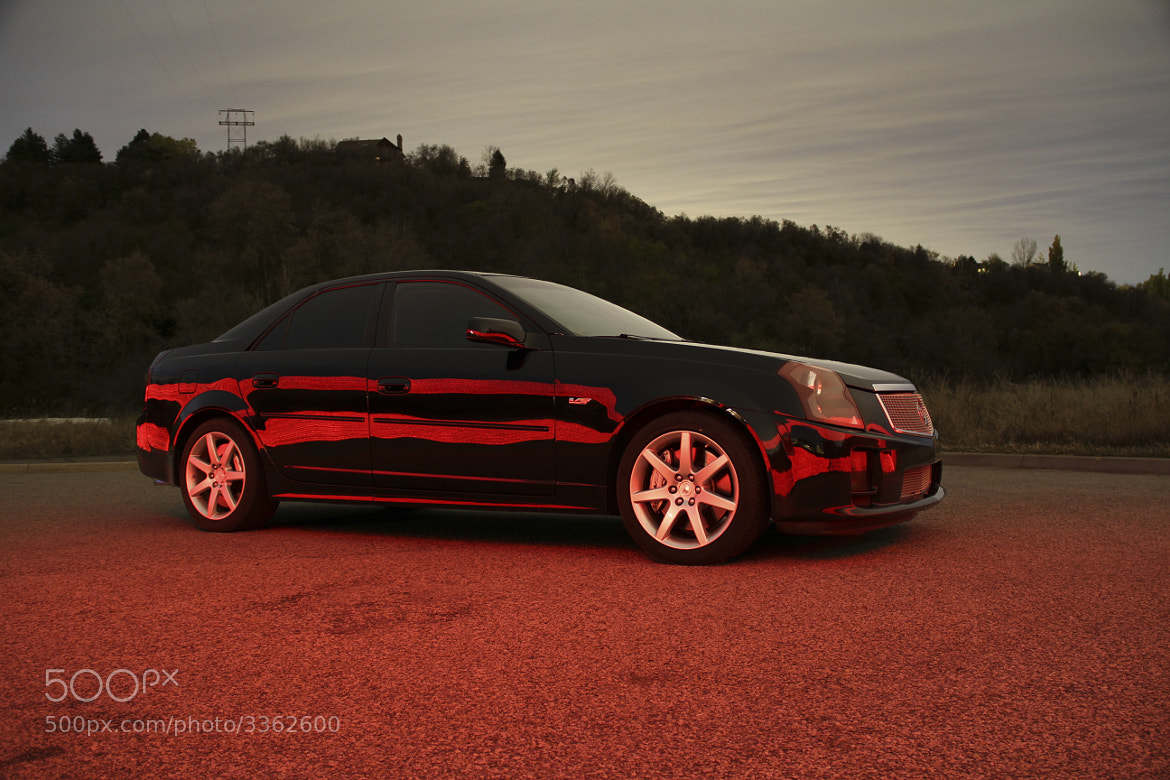 Photograph Cadillac CTS-V side by Michael  Johnson on 500px