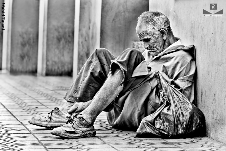 Photograph sleepy Beggar  by TAJANI ABDELOUAHED on 500px