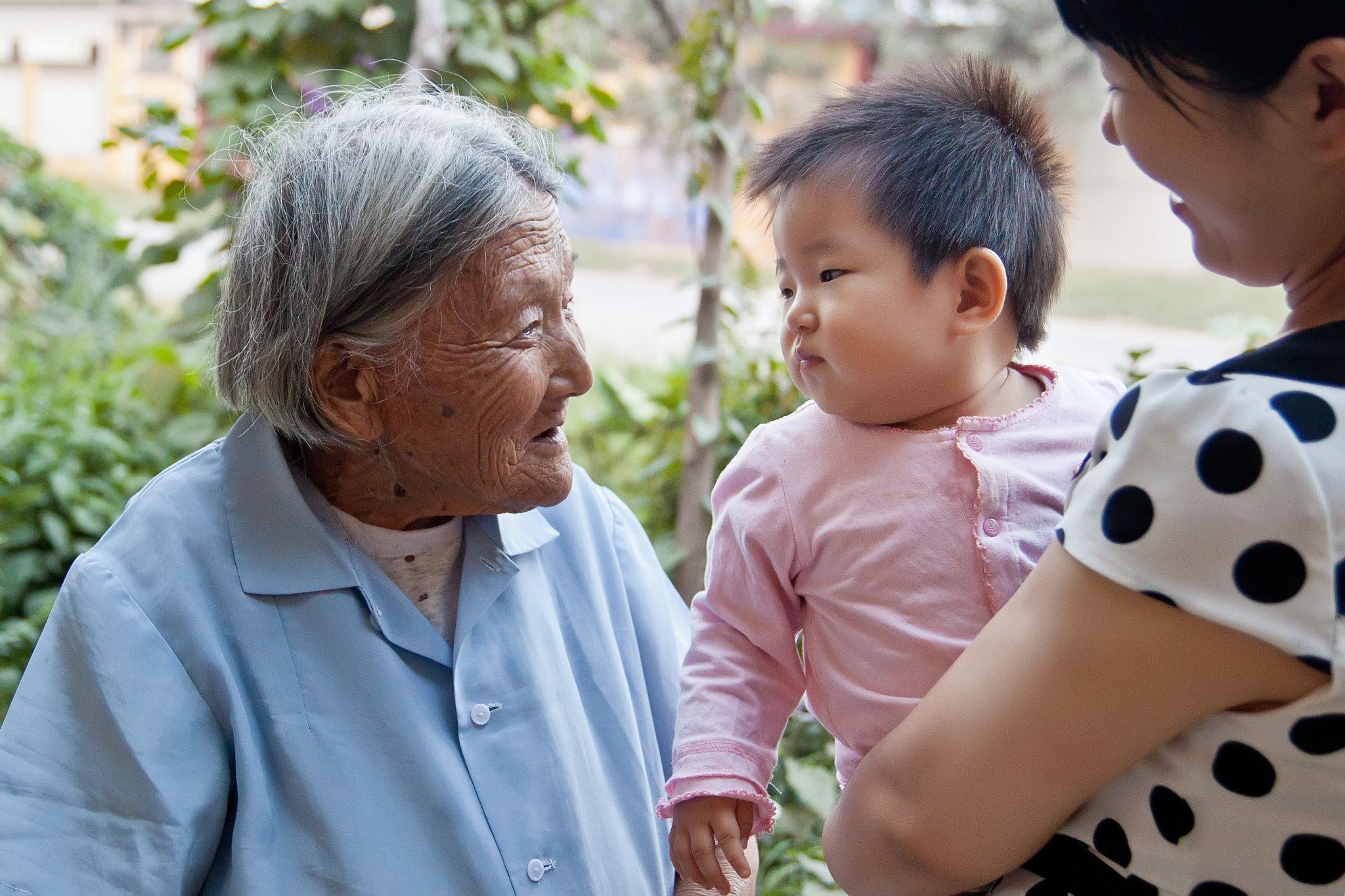 Photograph 97 year old and 1 year old by Song Hongxiao on 500px