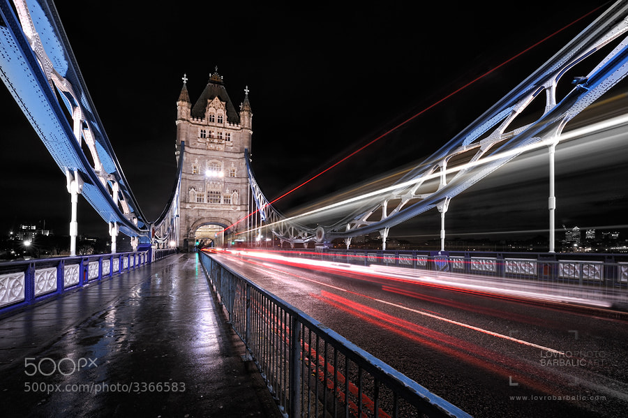 Photograph Tower Bridge by Lovro Barbalic on 500px