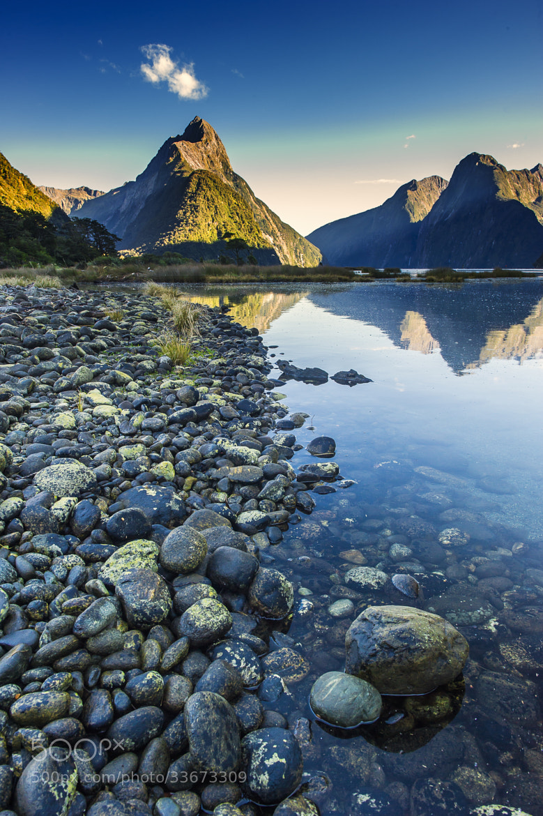 Photograph Milford Sound by Patrick Imrutai on 500px