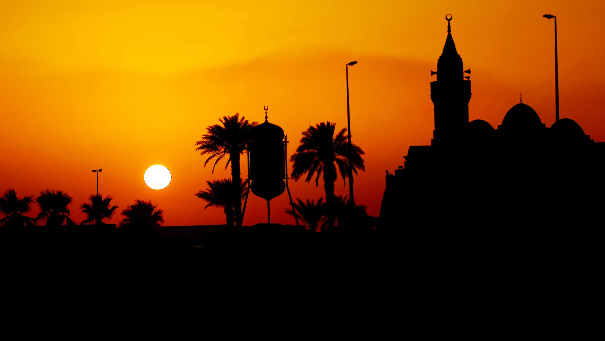 Photograph Masjed @ Sunset by Mohammed Abdo on 500px