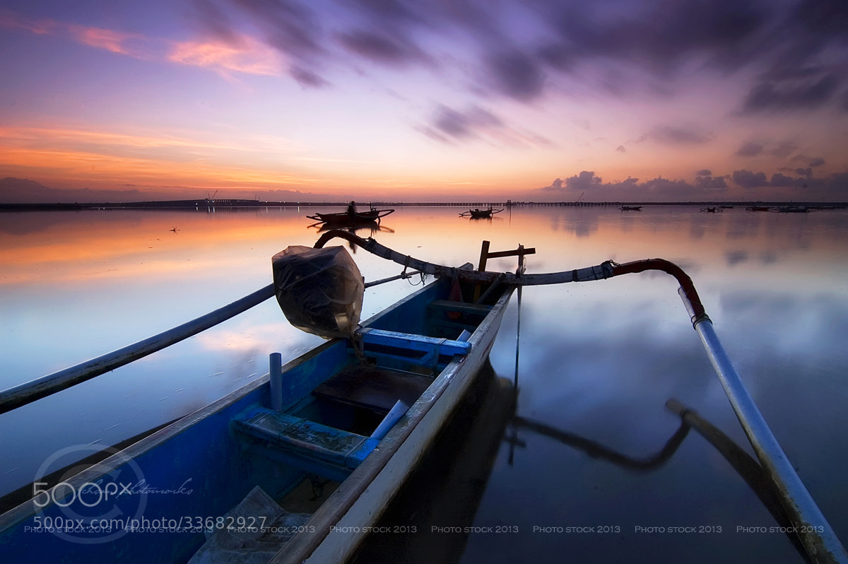 Photograph The Jukung by Ichsan Photoworks II on 500px