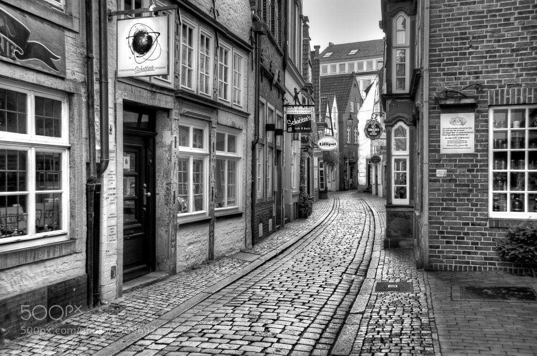 Photograph The Narrow Cobblestone Street by Ari Salmela on 500px