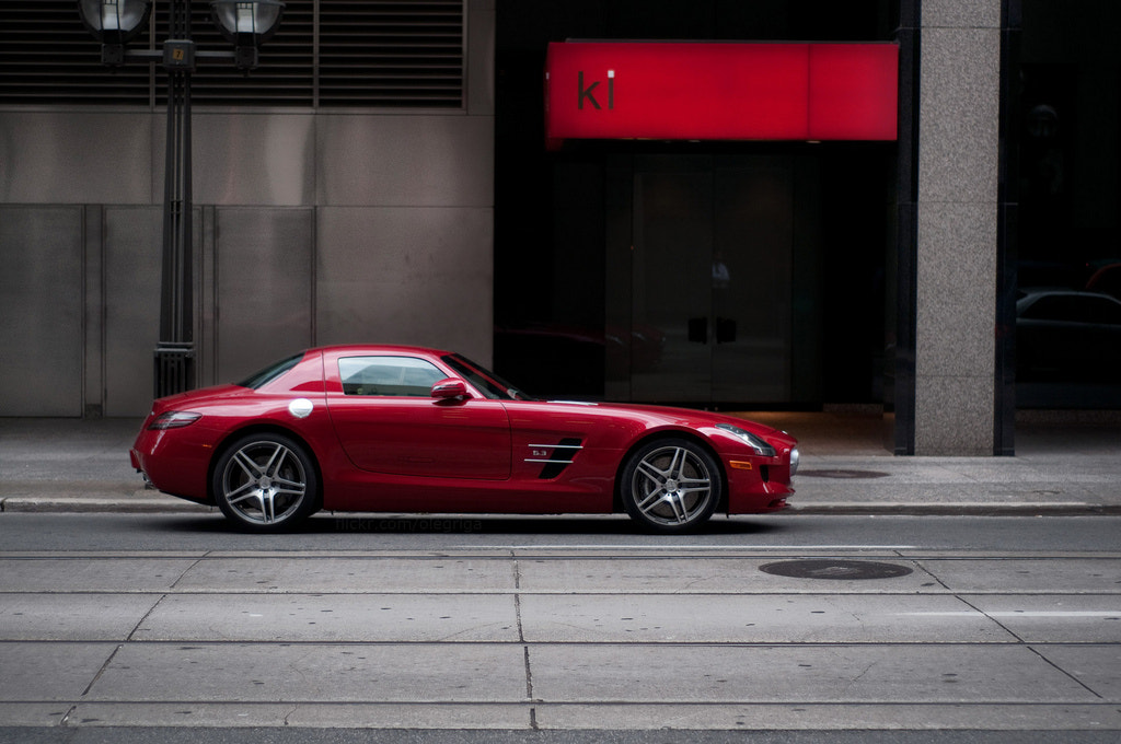 Photograph Mercedes Benz SLS  by Olegs Jevstratovs on 500px