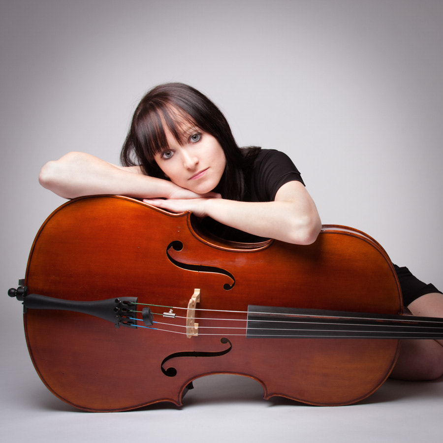 Photograph Me and my Cello by Max Sammet on 500px