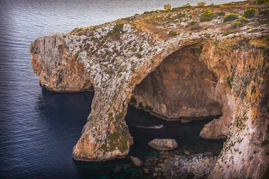 Blue Grotto, Malta by Sergio Otero Sevillano on 500px.com